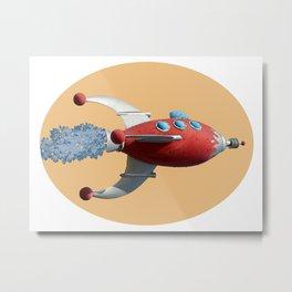 Spaceship - See the universe Metal Print
