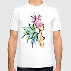 Faerie 1 Mens Fitted Tee SMALL White