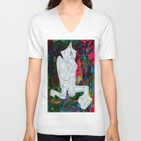 kermit V-neck T-shirts featuring Kermit by Masonjohnson
