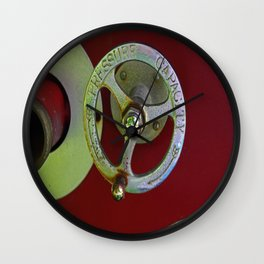 Pressure Capacity Wall Clock