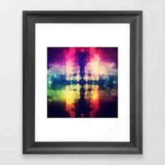 Bokeh Prism  Framed Art Print
