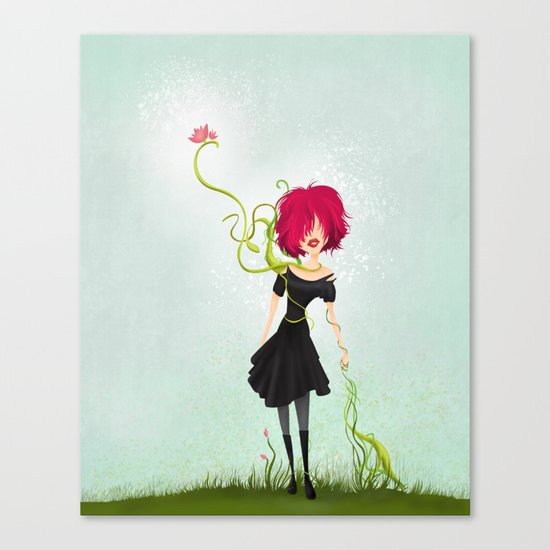 Growing Canvas Print