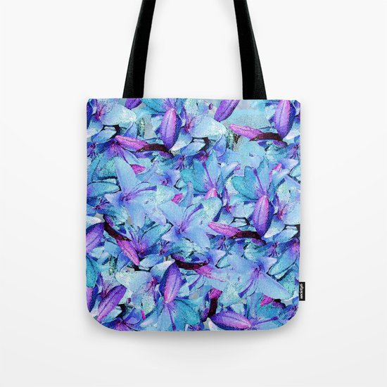 LILY BOUNTIFUL BLUE Tote Bag