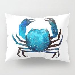 Cerulean blue Crustacean Pillow Sham