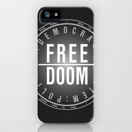FreeDoom-2 iPhone Case