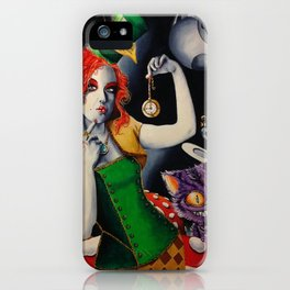 Sombrerera loca iPhone Case