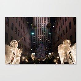 Rockefeller Center Gloria Canvas Print