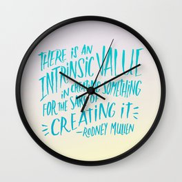 Rodney Mullen on Creating Wall Clock
