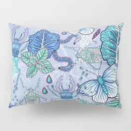 Frozen bugs in the garden Pillow Sham