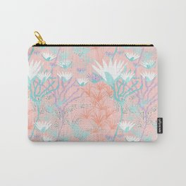 Lotus + Papyrus Garden Carry-All Pouch