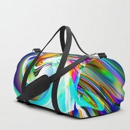 Abstract perfection - Circle 1 Duffle Bag