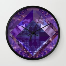 Love Lost City Wall Clock