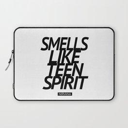 Smells Like Teen Spirit #black Laptop Sleeve