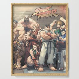 Street Fighter Serving Tray