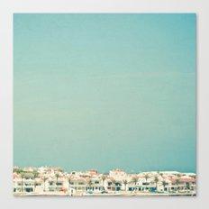 Mediterranean Skyline Canvas Print