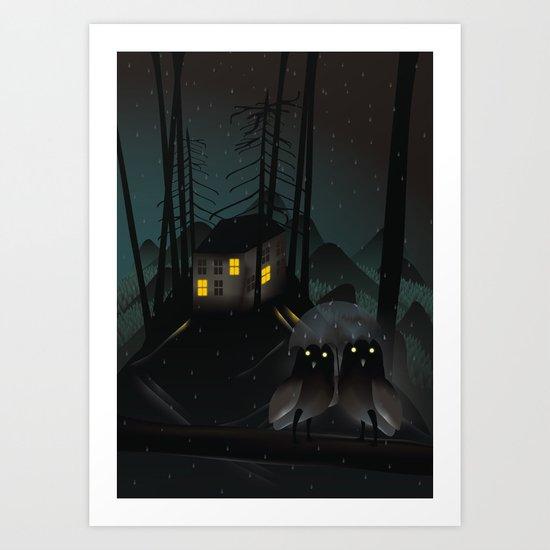 Outsiders Art Print