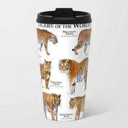 Tigers of the World Travel Mug
