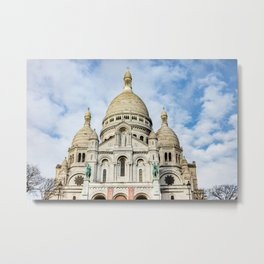 France, Sacred Heart, Paris Metal Print