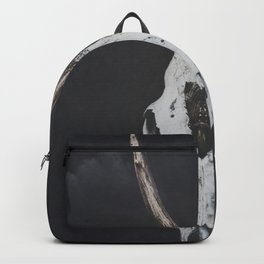 Roe Deer Skull with Death Hawk Moth Backpack