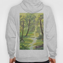 Happy forest with animals Hoody
