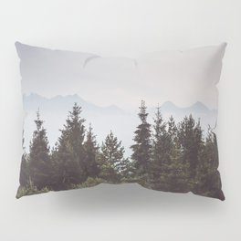 Mountain Range - Landscape Photography Pillow Sham