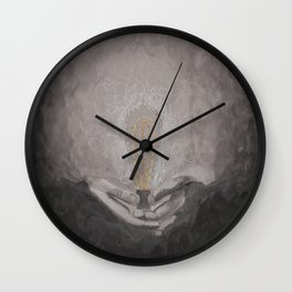 The light within 3 Wall Clock