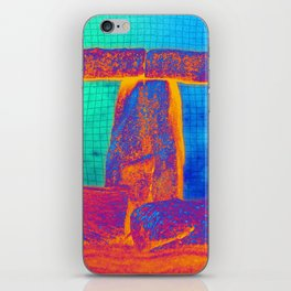 Stonehenge Meets Pop Art iPhone Skin