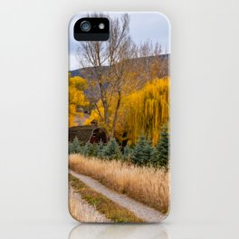 Colorado Little Red Barn iPhone Case