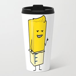 Buttered Buttery Stick of Butter Happy Thumbs Up Travel Mug
