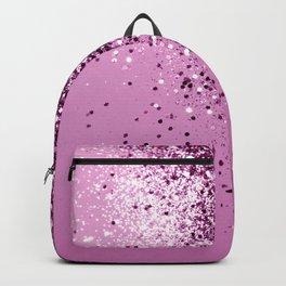 Sparkling Pink Lady Glitter #1 #shiny #decor #art #society6 Backpack