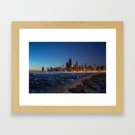 Chilling Chicago Framed Art Print