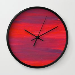 While Sailing Over the Wine-dark Sea Wall Clock