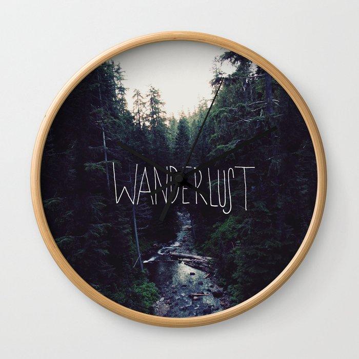 Wanderlust: Rainier Creek Wall Clock