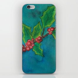 Holly Branch WC161122a iPhone Skin