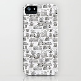 Ink Houses iPhone Case