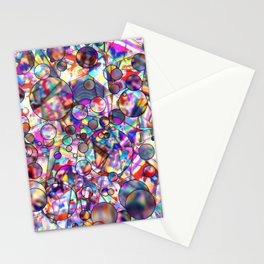 Abstract 3D Illusion Pattern Stationery Cards