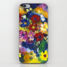 Bright Flowers iPhone & iPod Skin