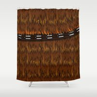 Wookiee talkie Shower Curtain