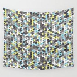 Silver mosaic Wall Tapestry