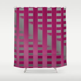 Open barrier - to next barrier ... Shower Curtain