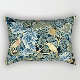 """William Morris """"Birds and Acanthus"""" Rectangular Pillow"""