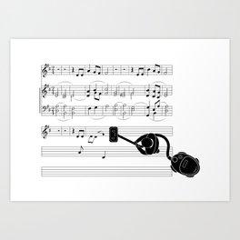 Vacuum sound Art Print