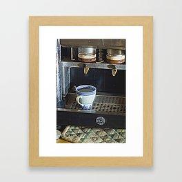 Easy coffee  Framed Art Print