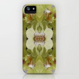 Orchid (Mandala-esque #123a) iPhone Case