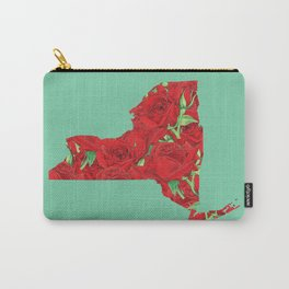 New York in Flowers Carry-All Pouch