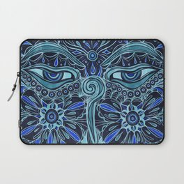 The Eyes of Buddha Laptop Sleeve