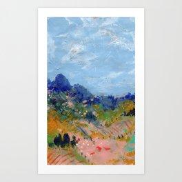 The Pasture Art Print