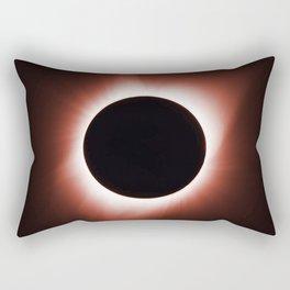 Solar Eclipse August 21, 2017 Rectangular Pillow