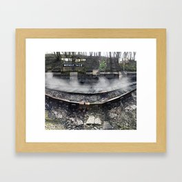 Ghosts of a Railway Framed Art Print