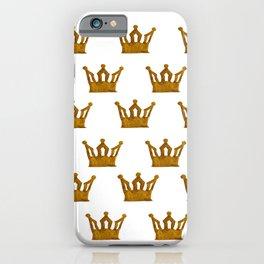 Golden Crown I iPhone Case